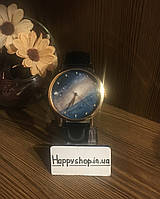 Часы женские Космос (черные)