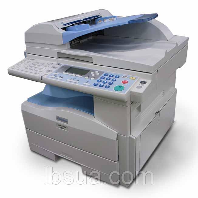 Gestetner MP201SPF - монохромный копир, сетевой принтер, сканер, факс, формата А4