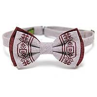 Стильная вышитая бабочка (галстук). 3 цвета., фото 1