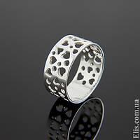 Женское серебряное Кольцо Валентинка