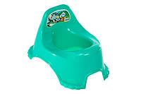 Горшок детский  R_plastic зеленый
