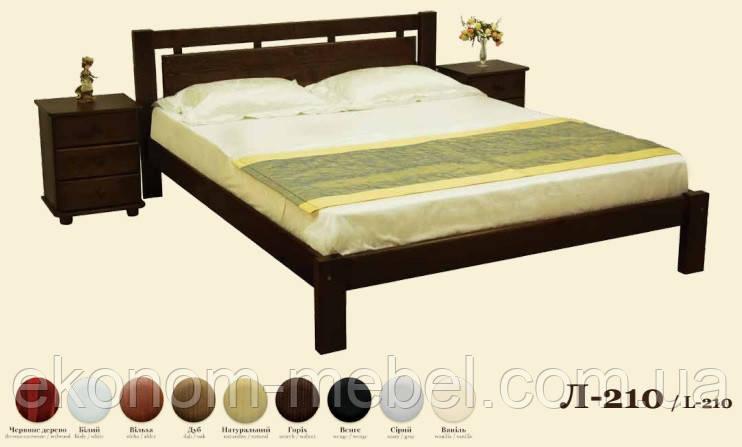 Кровать деревянная Л-210