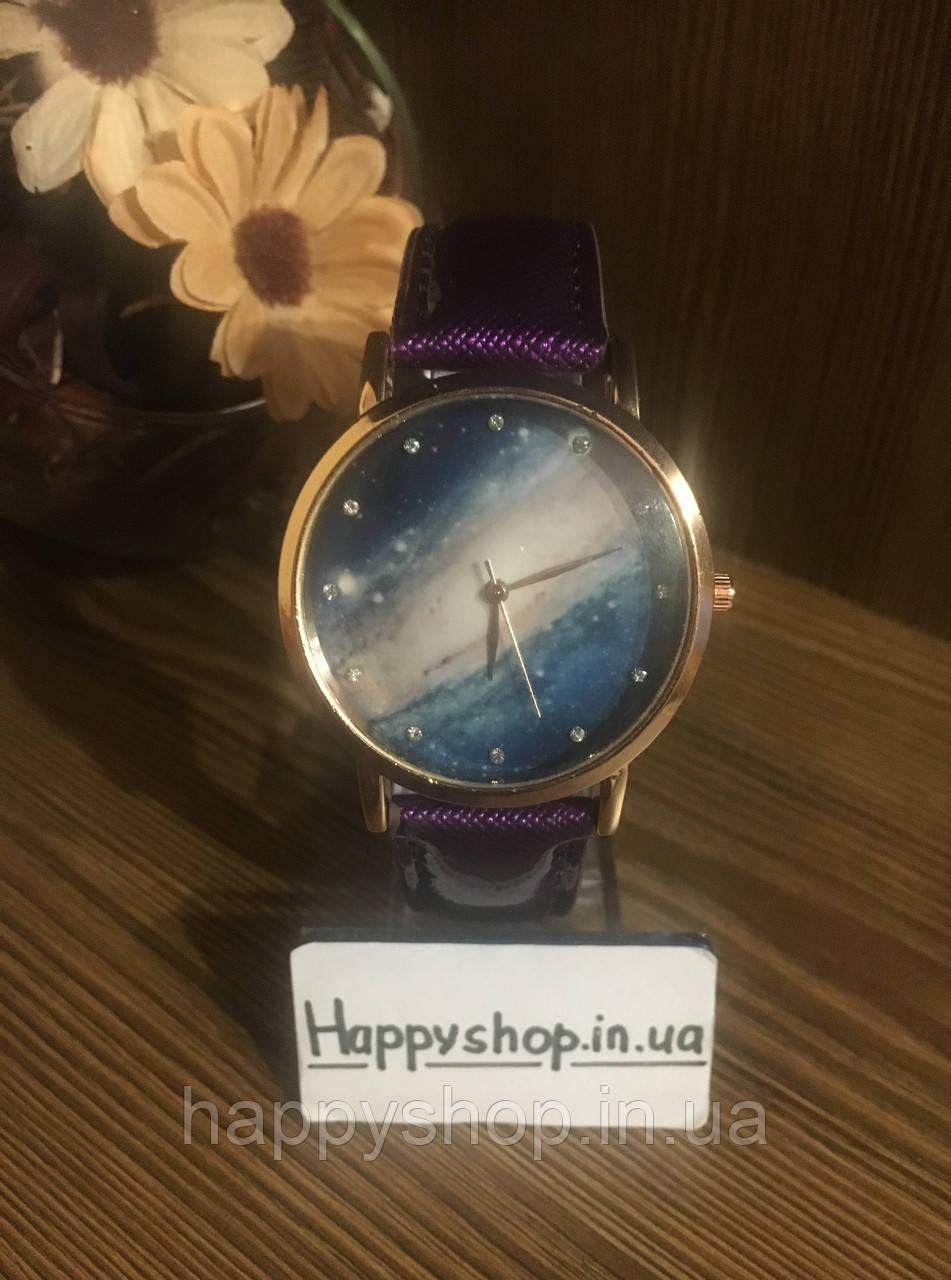 Часы женские Космос (фиолетовые)