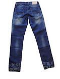 Мужские джинсы стильные FB 13-003 Blue Blue, фото 6