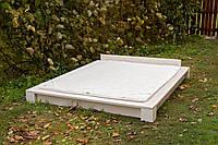 Кровать деревянная двуспальная, восточный стиль