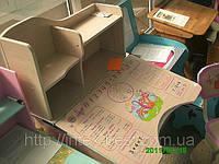 Детская парта+стульчик HBF2071-02 розовая(от 2-х до 70-ти лет!) ЛАМИНАТ. киев, фото 1