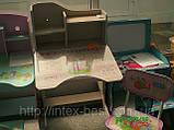 Дитяча парта+стілець HBF2071-02 рожева(від 2-х до 70-ти років!) ЛАМІНАТ. київ, фото 2