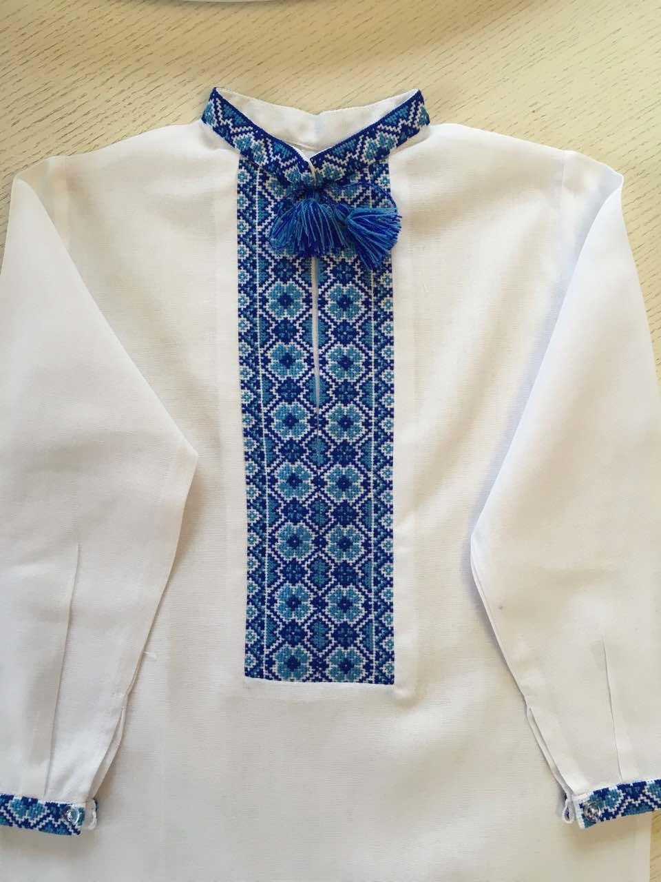 Біла вишита сорочка для хлопчика 5-6 років  продажа de707eaaea31a