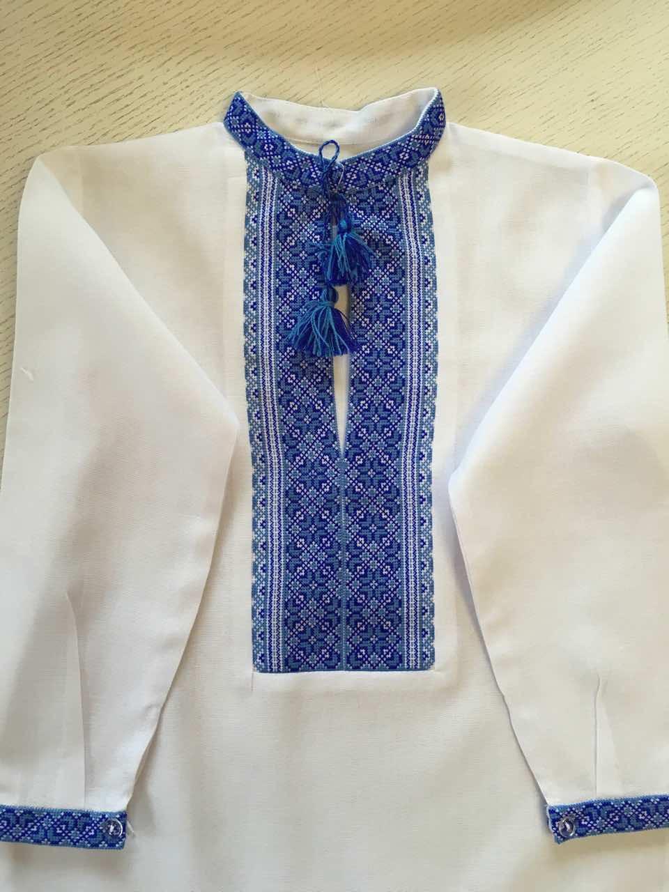 Біла вишита сорочка для хлопчика 5-6 років  продажа 000ff8f403146