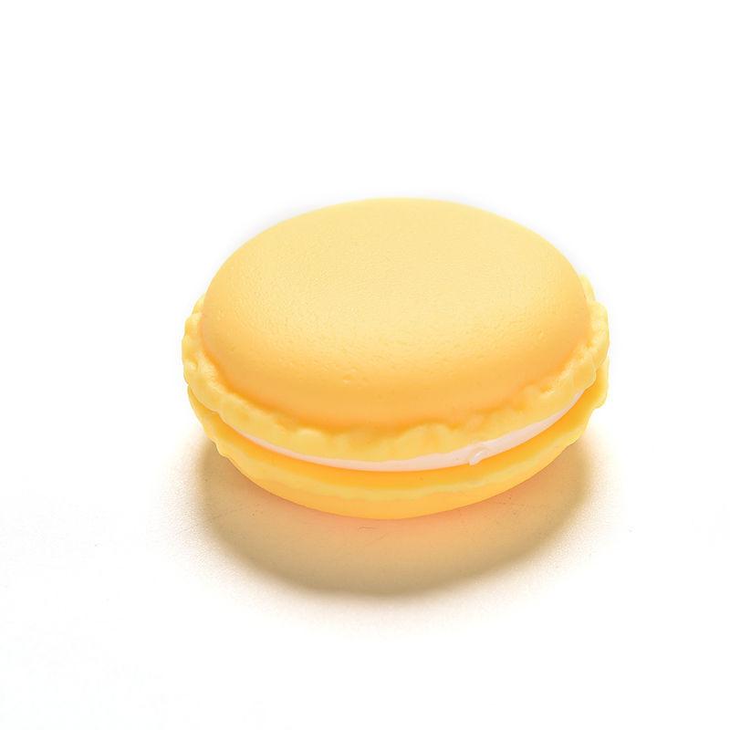Коробочка подарочная  Макарон Сиреневый Желтый