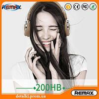 Наушники Remax 200HB Bluetooth Качественный звук! Модель 2017 года!
