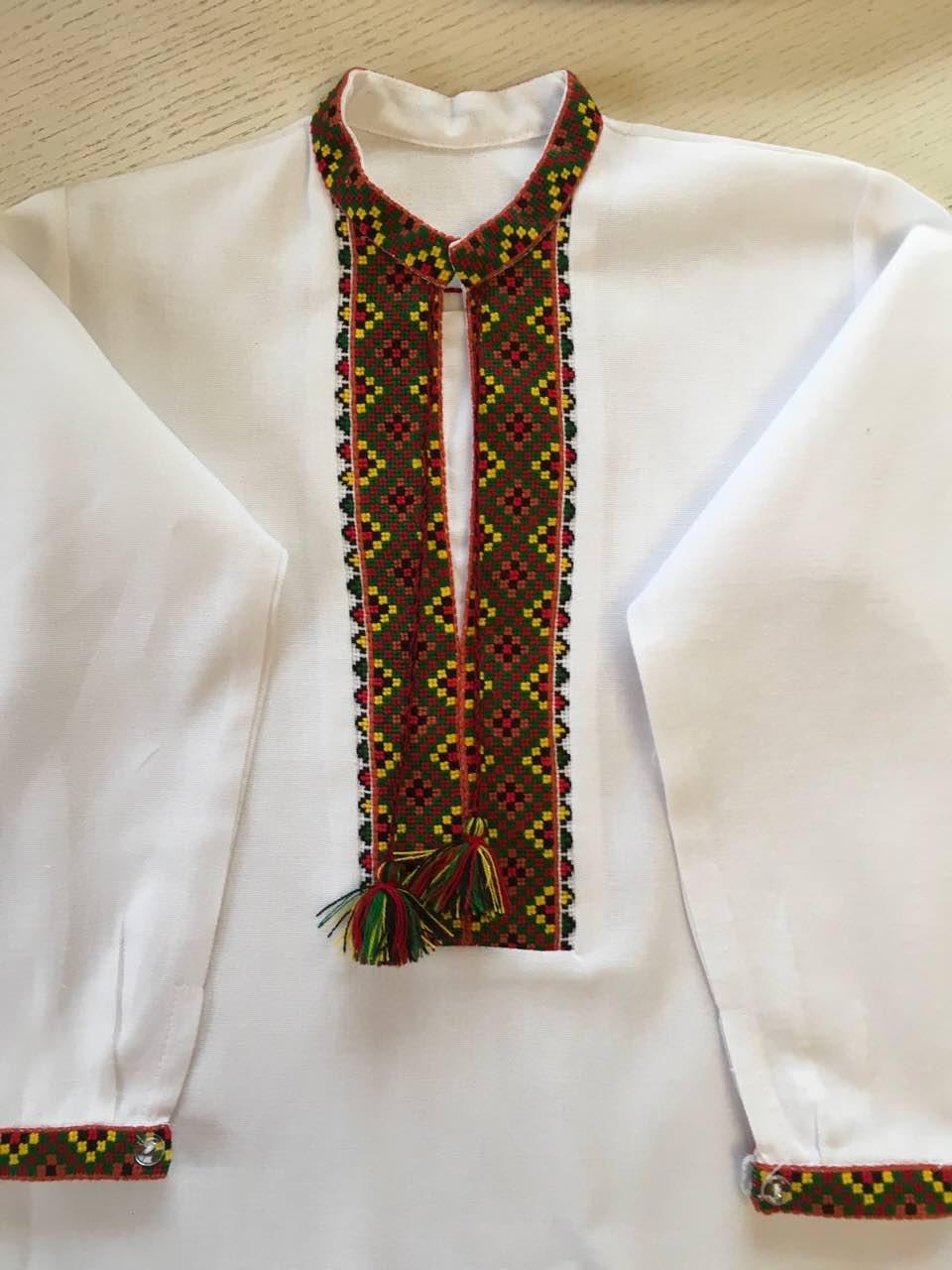 Біла вишита сорочка для хлопчика 5-6 років  продажа ec9a30d32ede0