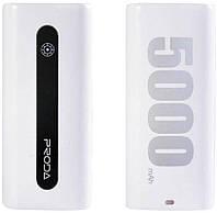 Power Bank 5000 mAh Remax E5, белый