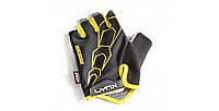 Перчатки RACE Black-Yellow, фото 1