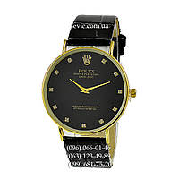Наручные часы Rolex Women Diamods Black/Gold/Black