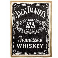 """Картина с мешковины """"Jack Daniels"""""""