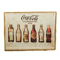 "Картина с мешковины ""Coca Cola evol"""