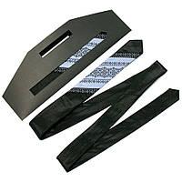 Оригинальный узкий галстук с вышивкой, фото 1
