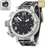 Часы U-boat  Italo Fontana Chimera black/silver AAA