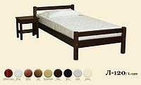 Кровать деревянная Л-120, фото 1