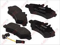 Тормозные колодки задние Мерседес Спринтер, Mercedes  Sprinter 316 RH 2124600, после 2006г