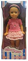 Кукла в розовой юбочке, 40 см, Lotus Onda