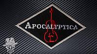 APOCALYPTICA-1 (виолончель) - нашивка с вышивкой