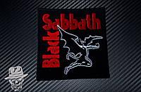 BLACK SABBATH-3 (летящий демон) - нашивка с вышивкой