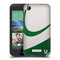 Пластиковый чехол для HTC Desire 320 узор Мяч для пляжного волейбола