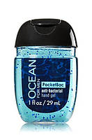 Санитайзер- антибактериальный гель для рук bath & body works OCEAN FOR MEN