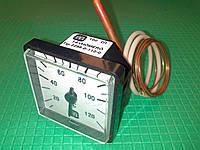 Термометр с капилляром 45х45мм. MMG-120 град.