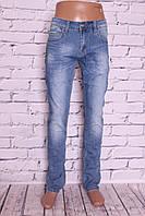 Мужские джинсы классического покроя (код В016)
