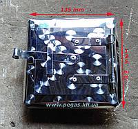Дверка сажетруска нержавейка 100х100 мм. сажечистка, фото 1