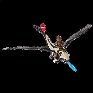 Как приручить дракона: дракон Беззубик в броне с всадником Иккингом SM66607-1 Spin Master