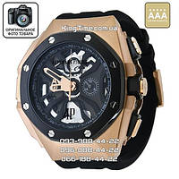 Часы Audemars Piguet Royal Oak Concept Laptimer Michael Schumacher gold/black AAA