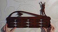 Медальница для фигуристов, дерево (Вешалка для медалей)