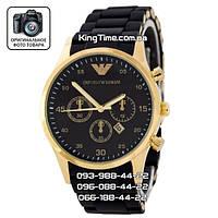 Часы Emporio Armani Silicone 4074 gold/yellow/black