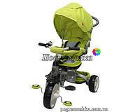 Детский трехколесный велосипед Crosser Modi T 500 Al Eva - Зелёный