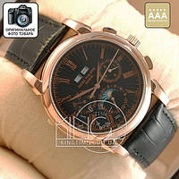 Часы Patek Philippe Geneve gold/black AAA