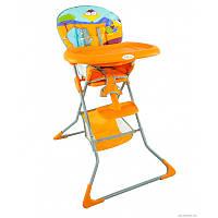 Детский Стульчик для кормления JOY  оранжевый