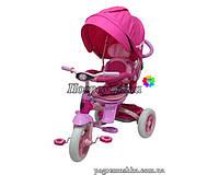 Детский трехколесный велосипед Crosser Modi T-500 Al Air (Пурпурный)