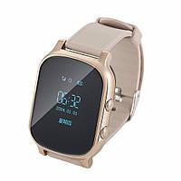 Часы с трекером Smart GPS Watch T58  золотой