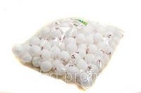Теннисные шарики BT-PPS-0033Б белый 40мм, 140шт в пакете
