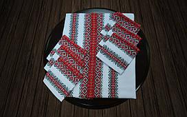 Набор столовый красный (190*140)
