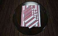 Скатерть с салфетками красная (190*140)