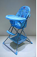 Детский стульчик для кормления  BLUE