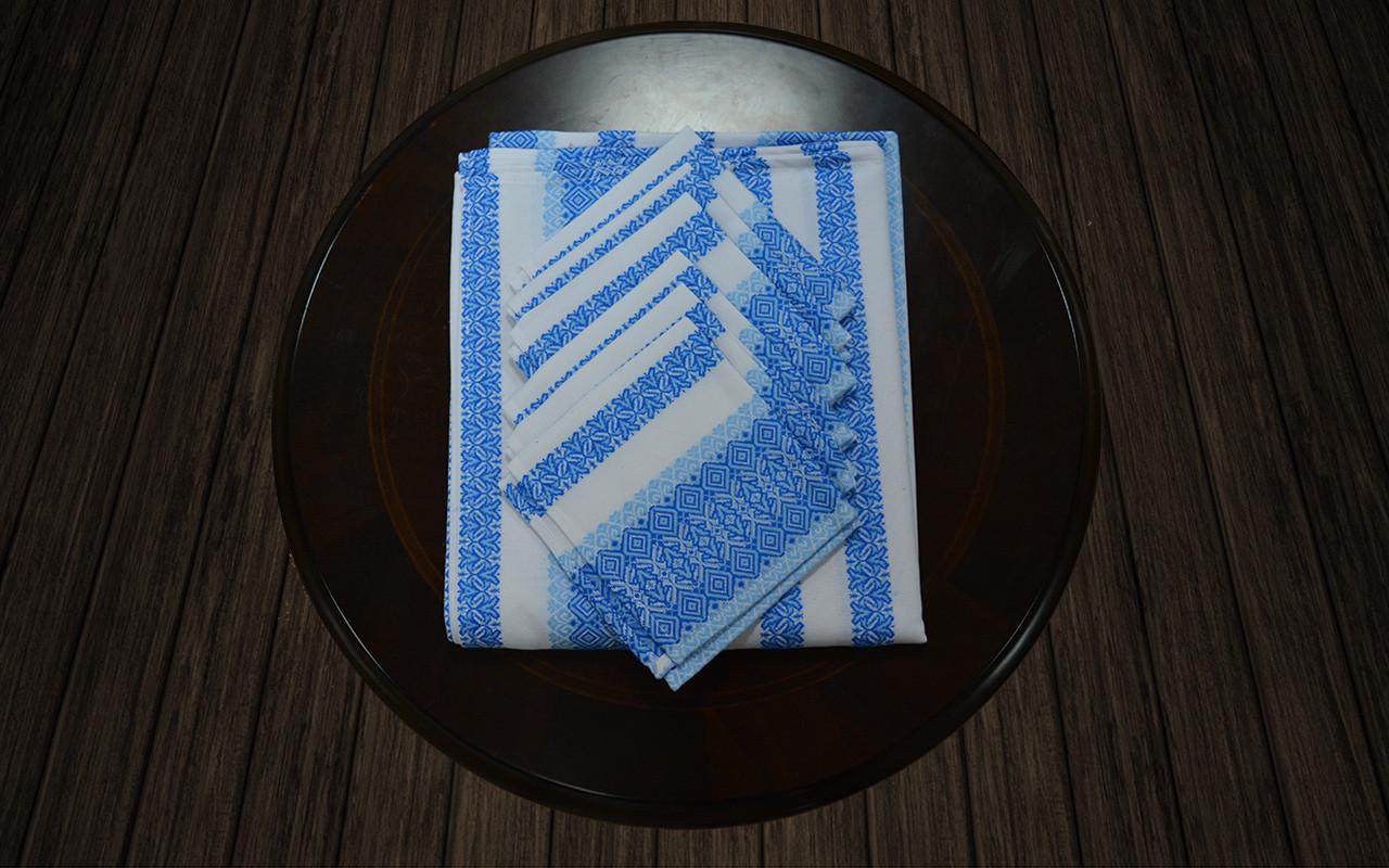 Комплект столовый голубой (120*140)