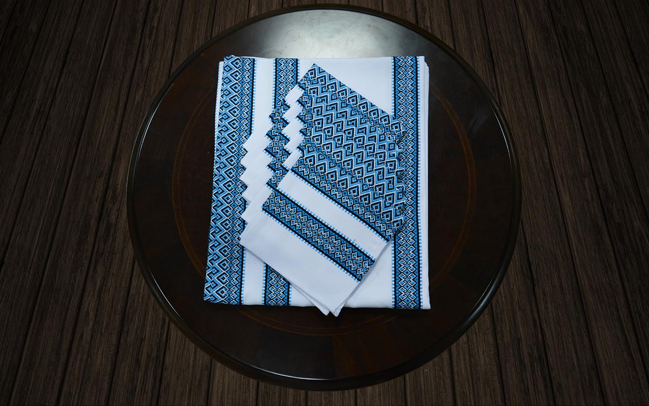 Комплект столовый синий (120*140)