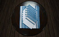 Столовый комплект синий (120*140)