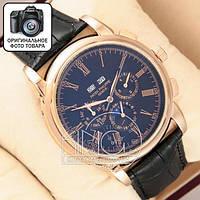 Часы Patek Philippe Geneve AA  gold/black